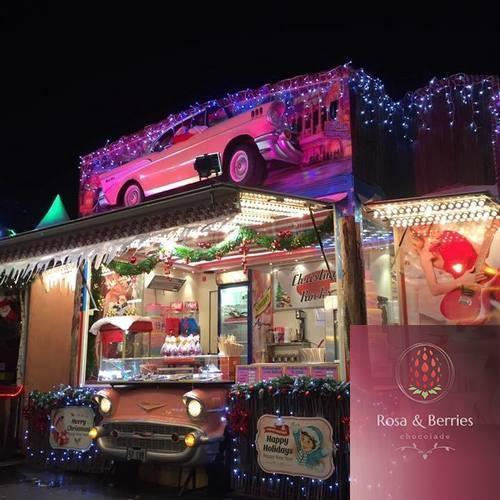 De food truck - Rosa & Berries
